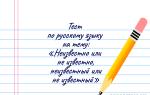 Тест на тему «Правописание слов неизвестно/ не известно, неизвестный/ не известный»