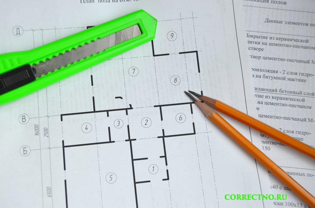 резак и карандаш для инженераа